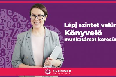 Könyvelő munkatársat keresünk győri csapatunkba!